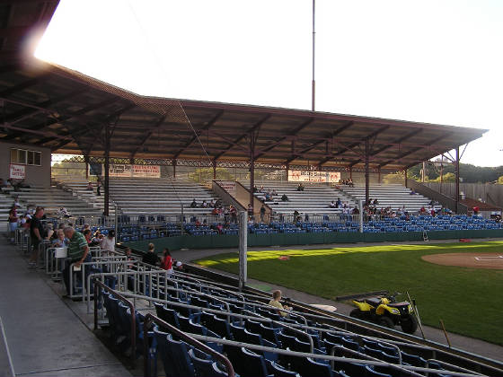 Bowman Field, The Grandstand area