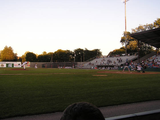 Bowman Field from third base